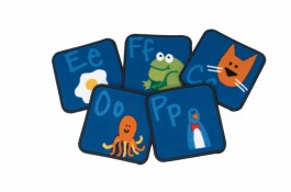 Kit of 26 Fun with Phonics Alphabet Squares.
