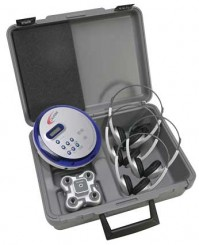 4-Person Portable CD Learning Center