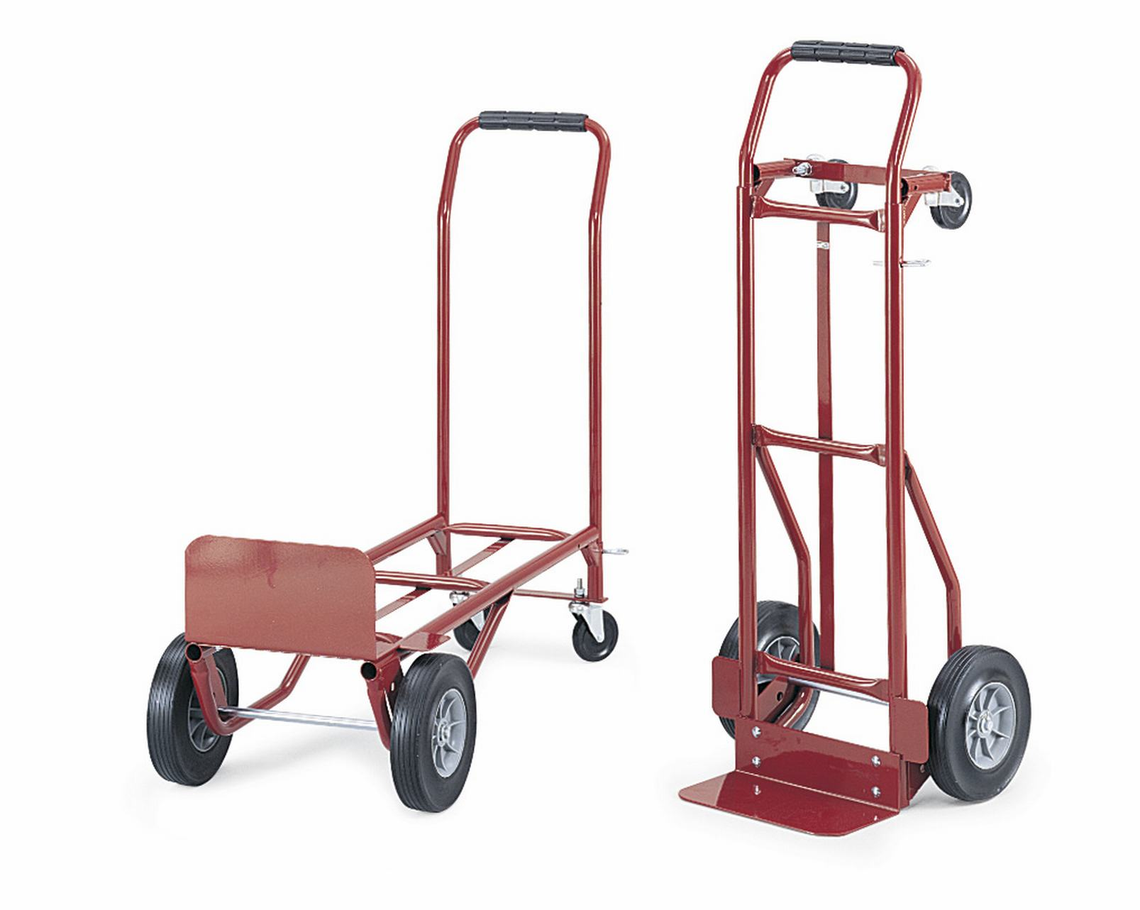 Heavy duty convertible handle truck educator 39 s depot for Furniture hand truck