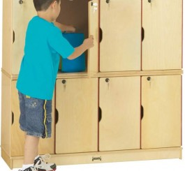 Jonti-Craft  Stacking Lockable Locker - Double Stack