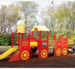 Playground Train Jr.