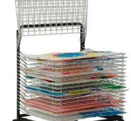 Spring Loaded Drying Rack (20 Shelves)