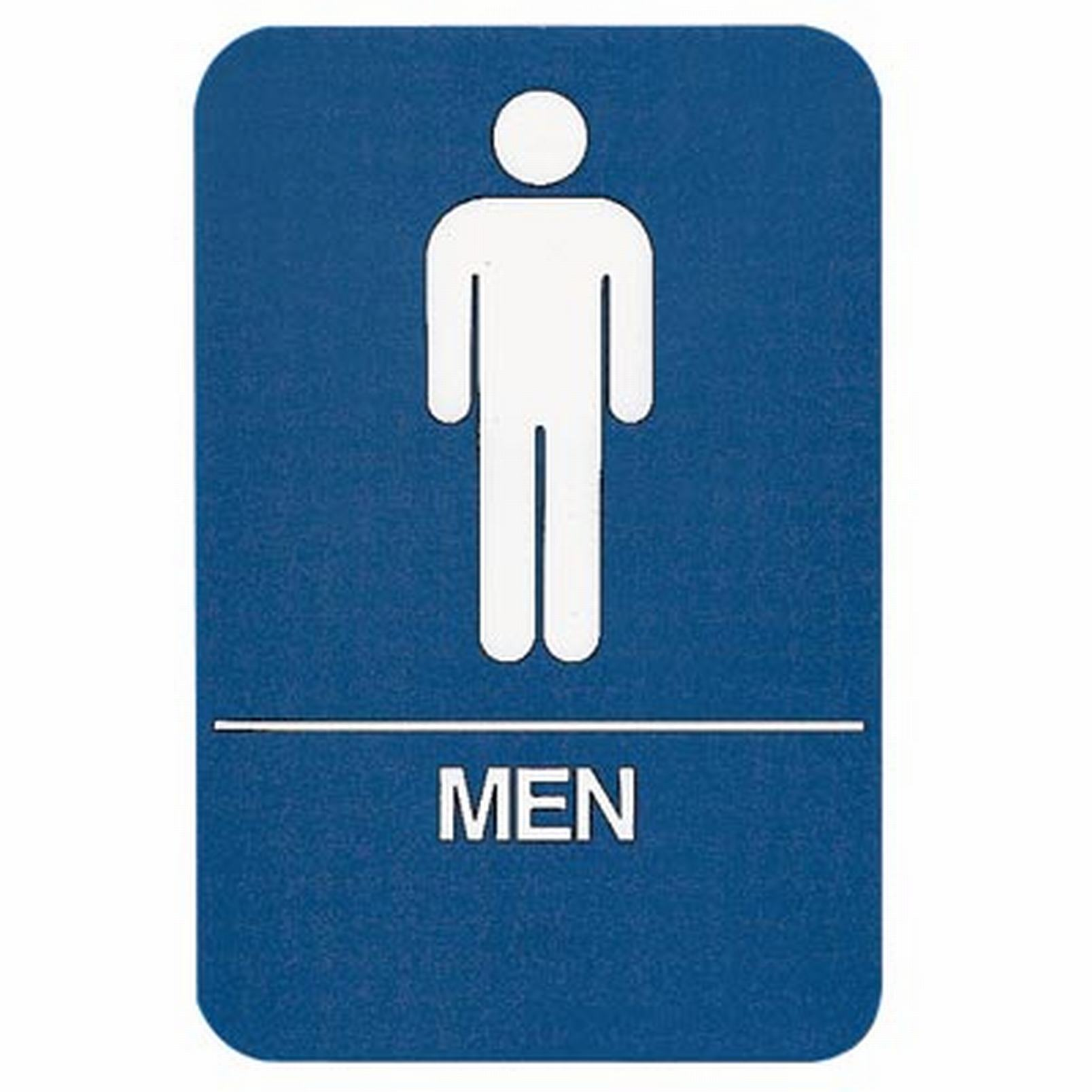 Sign Men Restroom ADA Compliant Educator 39 S Depot