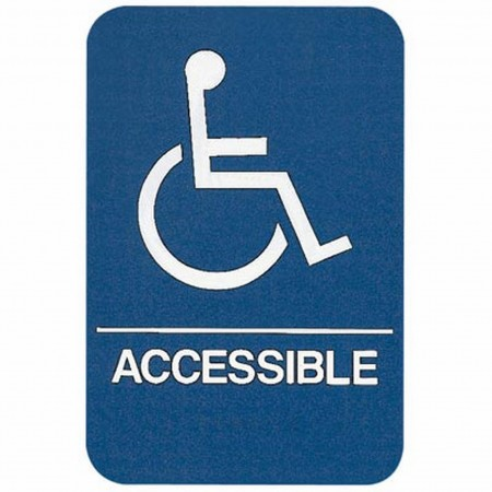 Sign wheelchair accessible ada compliant educator 39 s depot Ada compliant homes