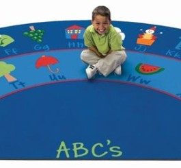 "Semi Circle ""Fun with Phonics"" Rug-5"