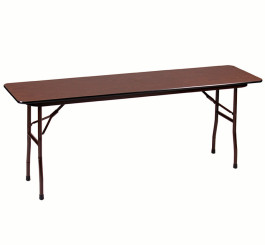 High-Pressure Laminate Fixed Height Folding Table