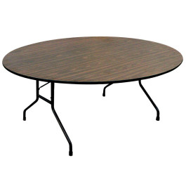 Round Melamine Folding Table