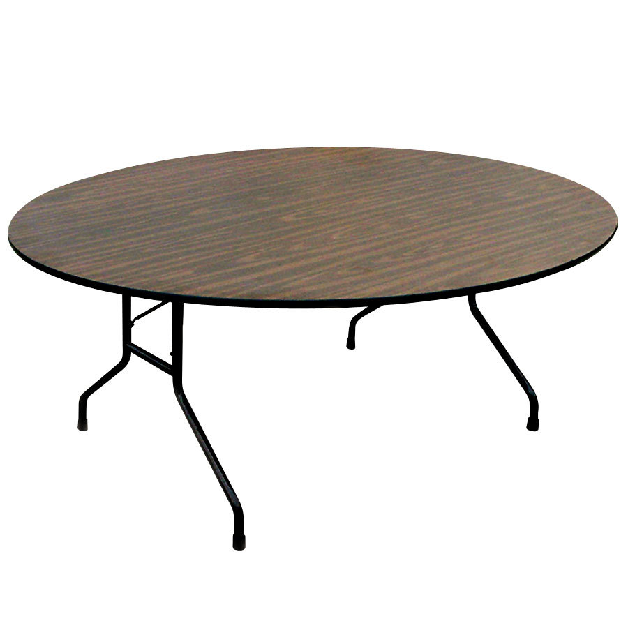 round melamine folding table. Black Bedroom Furniture Sets. Home Design Ideas