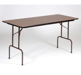 High-Pressure Laminate Counter Height Folding Table