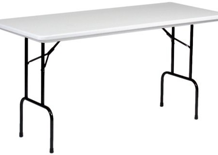 """Blow-Molded Counter Height Folding Table 30"""" x 72"""""""