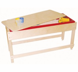 Sand & Water Table with Lid/Shelf