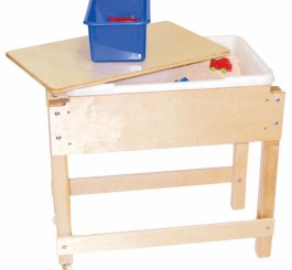 Petite Sand & Water/Sensory Table with Lid/Shelf