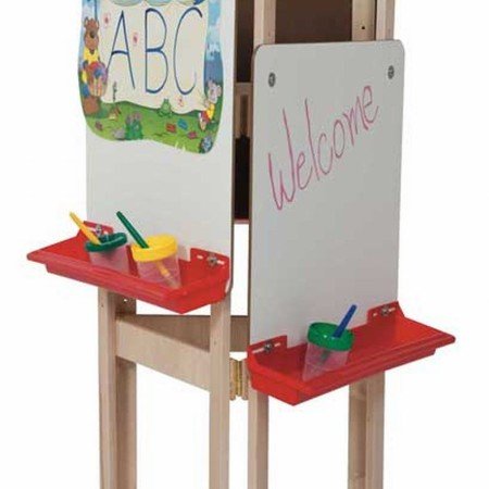 Three-Way Easel with Markerboard
