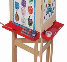 Three-Way Adjustable Easel with Plywood