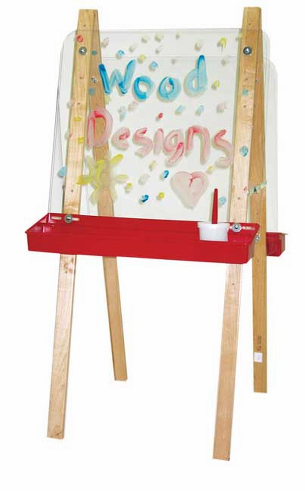 Double Easel with Acrylic Two Sides
