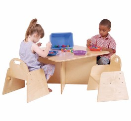 Tot-Size Multi-Use Table