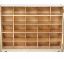 25 Tray Tri-Fold Storage without Trays