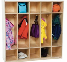 Locker Five Section