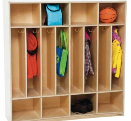 8-Section Space-Saver Locker