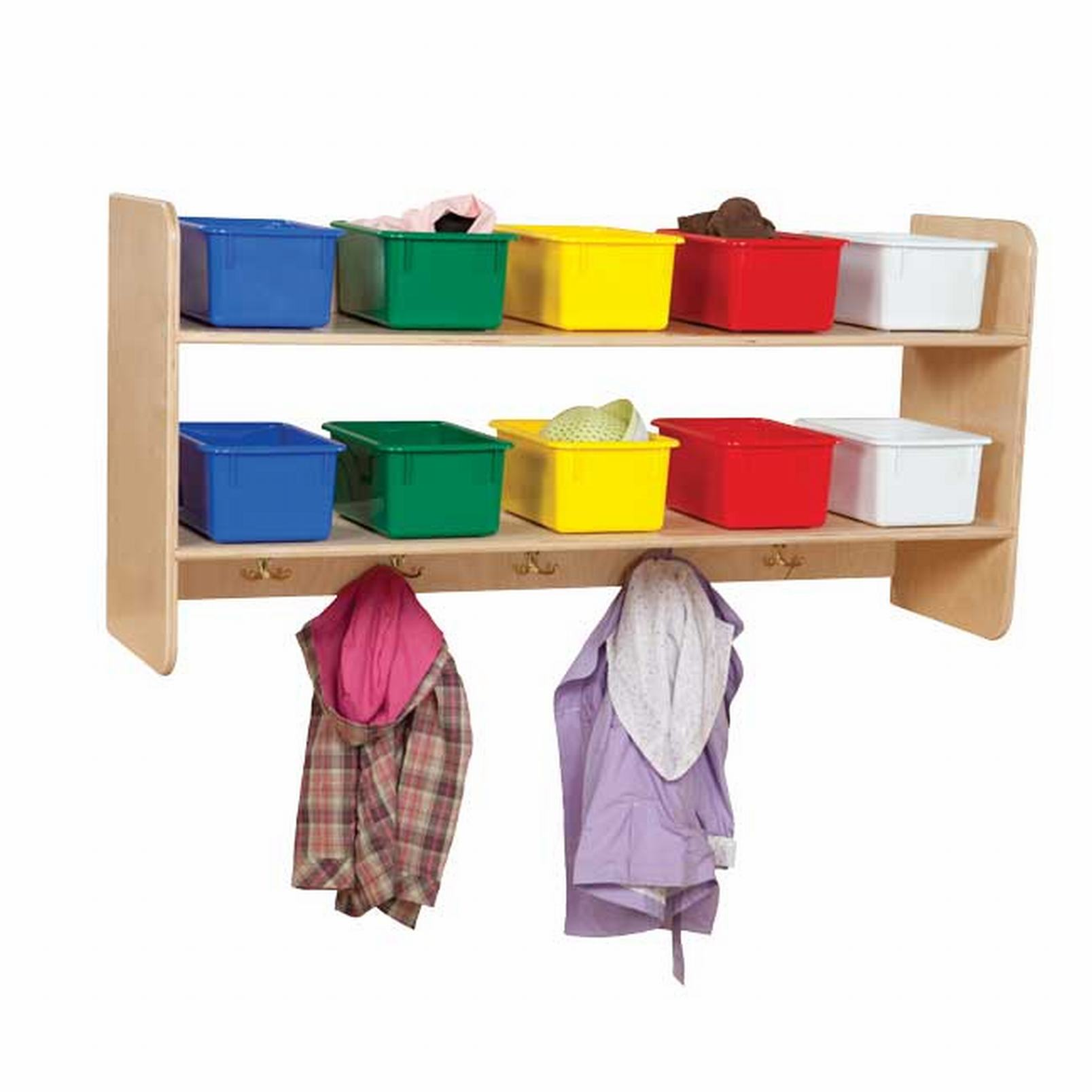 Wall Locker with Assorted Trays