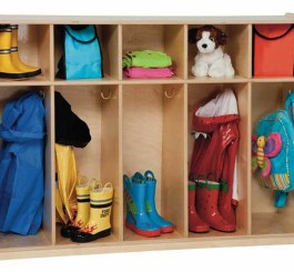 "Tip-Me-Not 36"" High Tot Lockers"