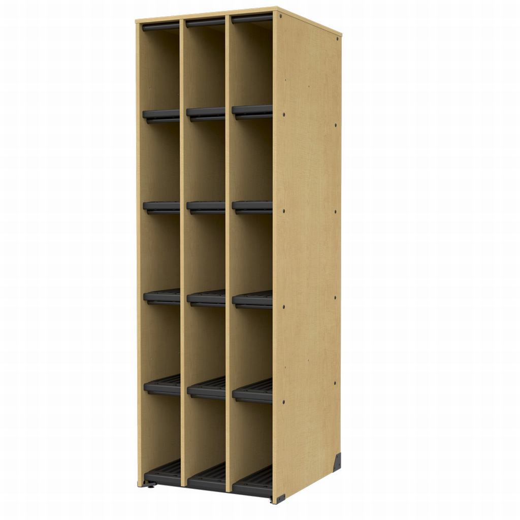 Band Storage, 15 Compartments-No Doors