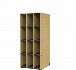 Band Storage, 12 Compartments-No Doors
