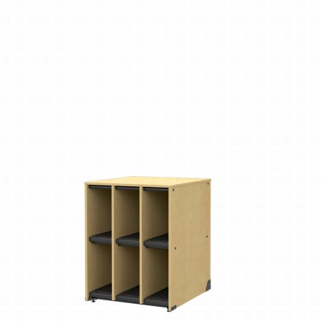 Band Storage, 6 Compartments-No Doors