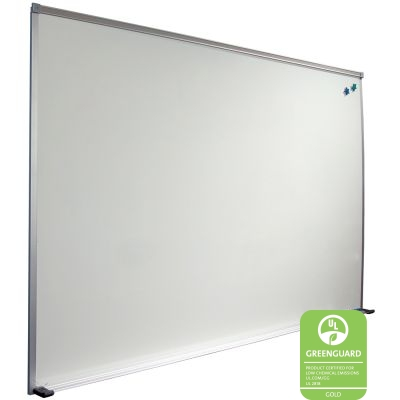 Porcelain Steel Whiteboard with Deluxe Aluminum Trim