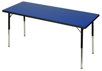 """Thermofuse Laminate 36x60"""" Rectangle Activity Table"""