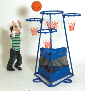 4-Ring Basktball Set