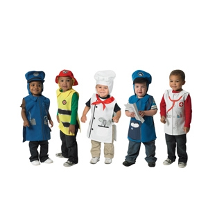 Community Helper Tunics-Set of 5