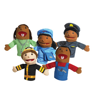 Career Puppets-Set of 5