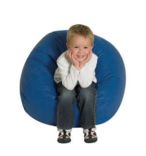 "26"" Bean Bag-Blue"