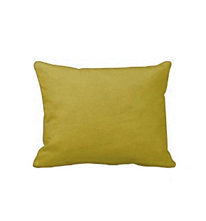 "27"" Yellow Pillow"
