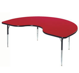 36x72 Kidney - F500 Series Activity Tables