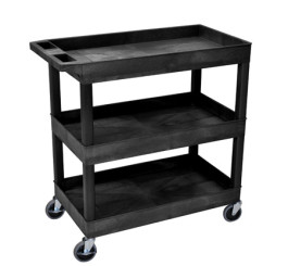 32 x 18 Tub Cart - Three Shelves