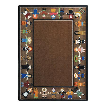 Children of Many Cultures Rug 2