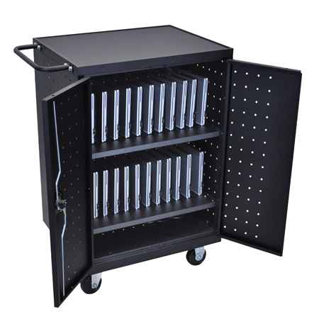 24 Laptop/Chromebook Computer Charging Cart