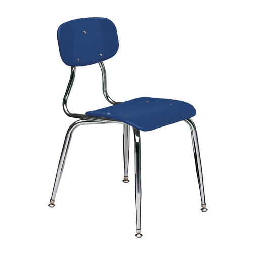 11-1/2″  3/8″ solid plastic 4-leg chair 4