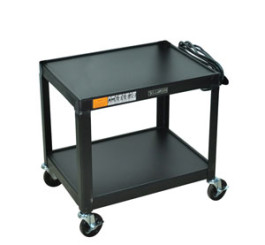 "26"" - Fixed Height Steel A/V Cart"