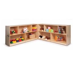 "30"" Fold & Roll Storage Cabinet"