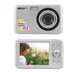 "12MP Digital Camera with Flash and 2.4"" LCD"