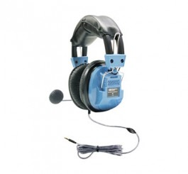 Deluxe Headset with Gooseneck Microphone and TRRS Plug