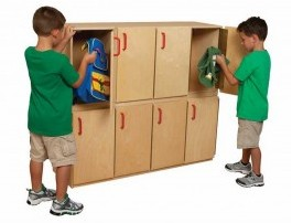 Preschool Lockers