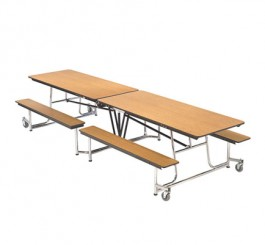 """MOBILE BENCH TABLE  - 10'1"""" x 30"""""""