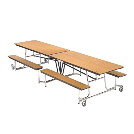 Mobile bench table 12 39 1 x 30 educator 39 s depot for 12 x 30 table