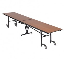 "Mobile Rectangle Table - 30""W x  10'1""L"