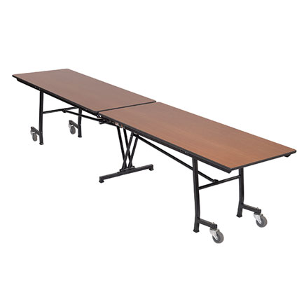 Mobile rectangle table 30 w x 12 39 1 l educator 39 s depot for 12 x 30 table