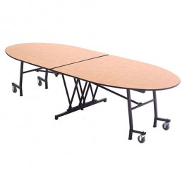 "Mobile Elliptical Table - 46""W x 10'1""L"